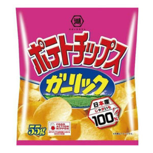 Koikeya Garlic Chips