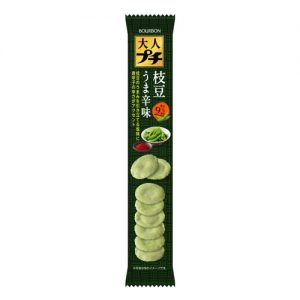 Bourbon Adult Spicy Edamame Cracker 38g (Clearance)